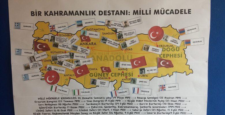 Milli Mücadele Haritası