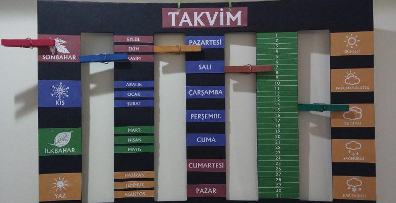 Sınıf Takvimi