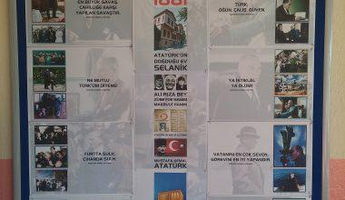 Atatürk Köşesi Pano Tasarımı