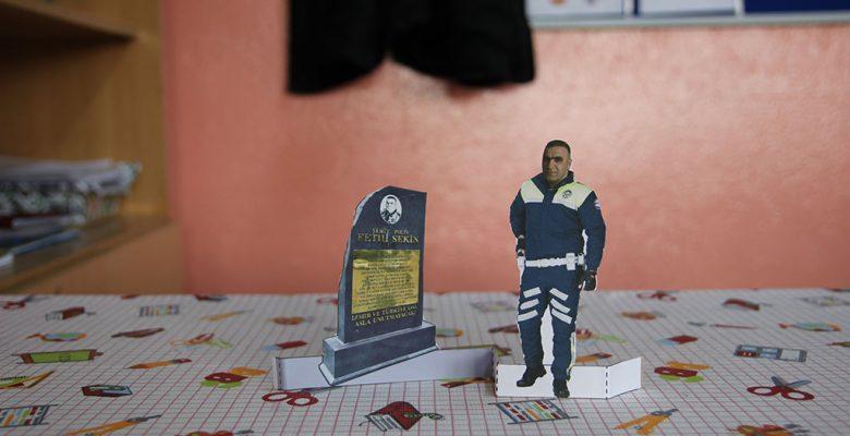 Şehit Polis Fethi Sekin Maketi