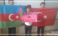 Çocuklarımıza Azerbaycan'daki Türk kardeşlerinden 23 Nisan mesajı var. (Video)