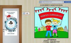 29 Ekim Cumhuriyet Bayramı Poster Boyama