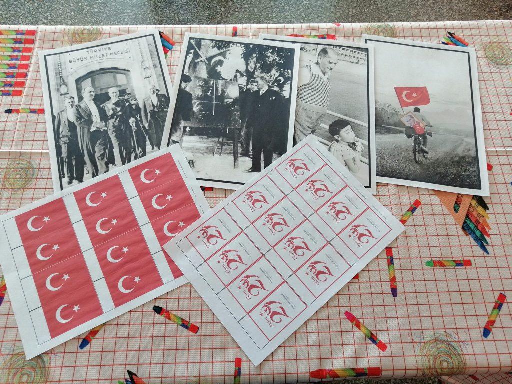 Cumhuriyet Bayrami Hazir Pano Ve Poster Tasarimlari Ali Ogretmen