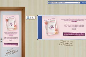 Mevlid-i Nebi Haftası Hazır Pano ve Poster Tasarımları