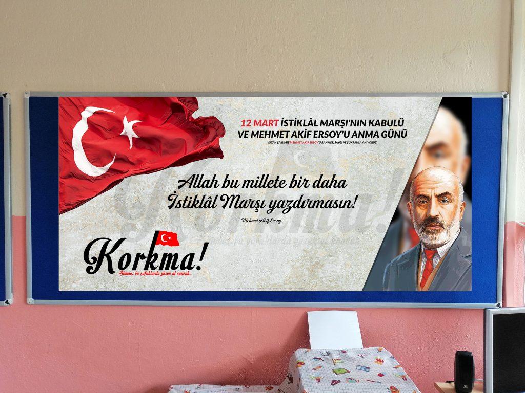 12 Mart Hazir Pano Ve Poster Tasarimlari Ali Ogretmen Materyal