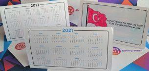 Boyamalı 2021 Takvimleri